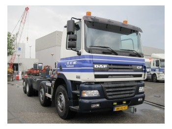 Cab chassis truck DAF 85 CF 340; 8x2 chassis; Manual Gear: picture 1
