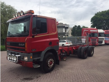 Cab chassis truck DAF 85 CF 380 10 tires steel/steel