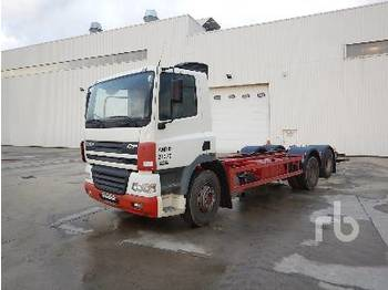 DAF CF85.340 6x2 - cab chassis truck