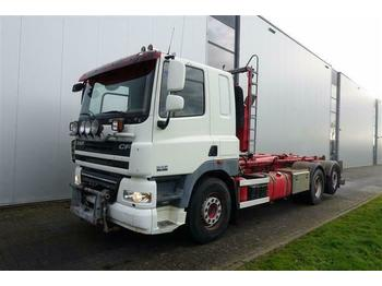 Cab chassis truck DAF CF85.460 6X2 HOOK HUB REDUCTION EURO 4