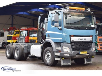 DAF CF 370, Euro 6, 6x4, Steel springs, Manuel, Truckcenter Apeldoorn - cab chassis truck