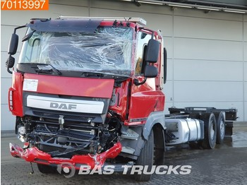 Cab chassis truck DAF CF 410 Unfall 6X2 Intarder Lift+Lenkachse Euro 6