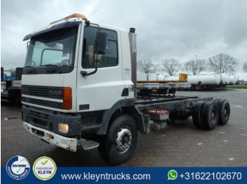 Cab chassis truck DAF CF 85.360 6x4 steel euro 2: picture 1