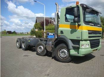 DAF FAD CF85-360 euro5 8x4 - cab chassis truck