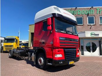 DAF XF105.410 SUPER SPACECAB 4X2 CHASSIS HOLLAND TRUCK LOW KM - cab chassis truck