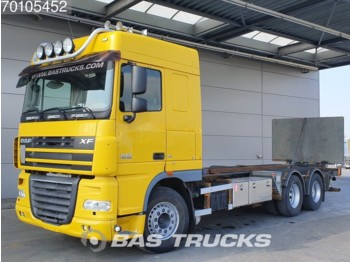 DAF XF105.460 6X2 Liftachse Ladebordwand Xenon Euro 5 - cab chassis truck