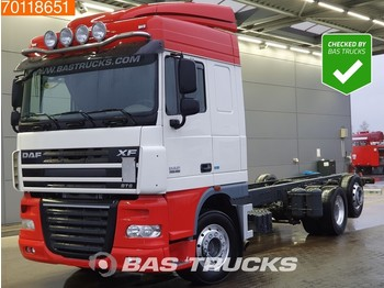 DAF XF105.460 6X2 Steering-Axle Manual Intarder Euro 5 - cab chassis truck