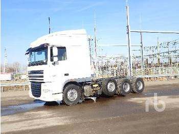 DAF XF105.510 8x4 - cab chassis truck
