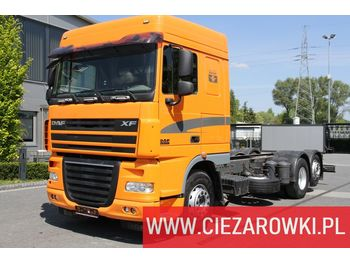 DAF XF 105.460 E5 6x2 Retarder Body 7,2m Air suspension good conditi - cab chassis truck