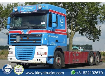 Cab chassis truck DAF XF 105.510 6x2 e5 manual