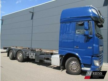 DAF XF 510 FAN SSC Lenkachse Intarder Top Zustand  - cab chassis truck