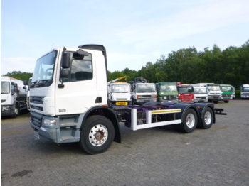 Cab chassis truck D.A.F. CF 75.310 6x4 RHD chassis