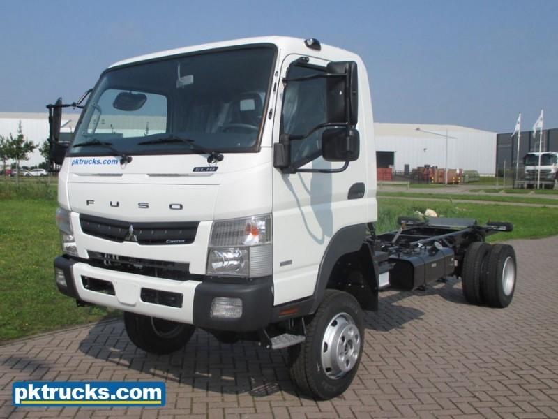 Cab chassis truck FUSO Mitsubishi Canter 6C18 airco (4 Units) - Truck1 ID:  2859841