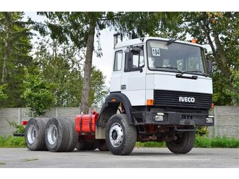 Cab chassis truck IVECO 260-25AHB 6x4 1991 - chassis