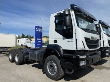 IVECO AD380T45 Trakker 6x4 E6 (Chassis Cab) - cab chassis truck