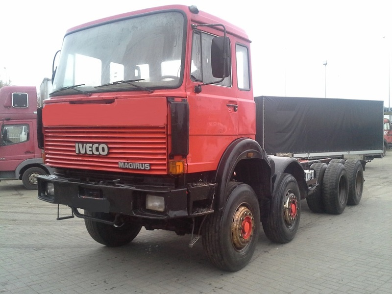 IVECO MAGIRUS 330-30H cab chassis truck from Poland for sale at Truck1, ID: 1814643