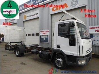 Cab chassis truck Iveco 75E15 EuroCargo LBW*AHK*Klima*1.Hand Tempomat