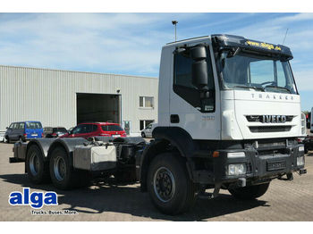 Cab chassis truck Iveco AD260T36 6x4, wenig KM, Schalter, Blattfederung