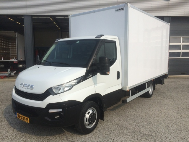 1cfe9ceb69 Iveco Daily 35C13A8 (Euro5 Klima ZV) cab chassis truck from ...