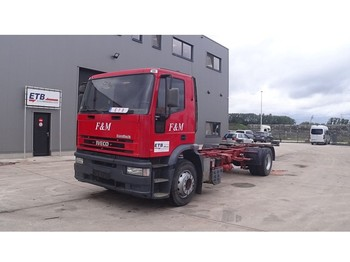 Cab chassis truck Iveco Eurotech 190 E 27 (MANUAL PUMP)