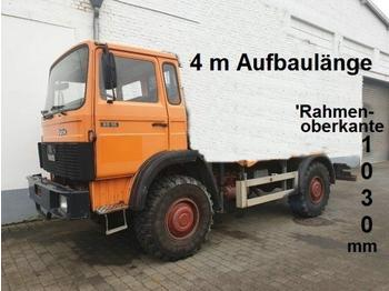 Iveco Magirus 80 16 A/4x4 80 16 A/4x4, Fahrgestell Standheizung - cab chassis truck