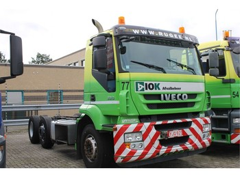 Iveco Stralis Chassis Cabine 6x2 Airco - cab chassis truck