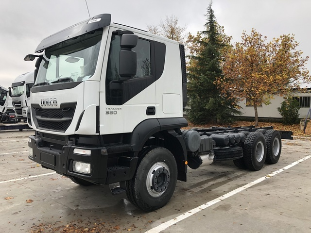 539d9719a3 Iveco Trakker 380 cab chassis truck from Spain for sale at Truck1 ...
