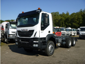 Cab chassis truck Iveco Trakker AD380T41 Euro 5 6x4 chassis / NEW/UNUSED
