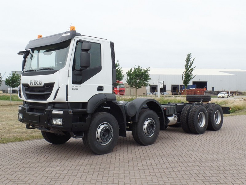 93141aceee New Iveco Trakker AD410T42H 8x4 Chassis cabin cab chassis truck for ...