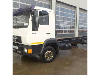 Cab chassis truck MAN 10.163