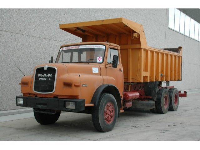 Cab chassis truck MAN 32 281 - 6X4 - Truck1 ID: 590664