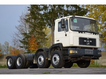 Cab chassis truck MAN 32.342 chassis 8x4 model 1995
