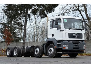 MAN TGA 32.360 8x4 2007 - chassis - cab chassis truck