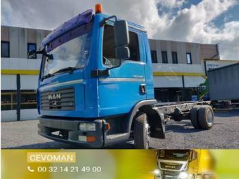 Cab chassis truck MAN TGL 7.150 Euro4 chassis cabine