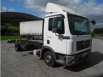 MAN TGL 8-180 - cab chassis truck