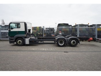 Cab chassis truck MAN TGS 26.320 6X2 CHASSIS 573.000KM