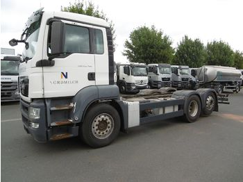 MAN TGS 26.360 - cab chassis truck