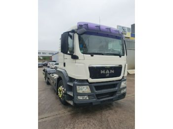 Cab chassis truck MAN TGS 26.360 FLL  6X2 ADR  Fgst GAS  Intarder