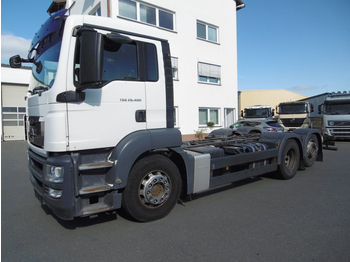 MAN TGS 26.400 6x2  (Nr. 3944) - cab chassis truck