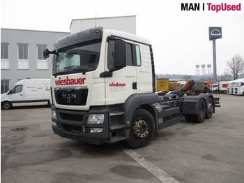 MAN TGS 26.440 6X2-2 LL - cab chassis truck