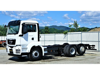 Cab chassis truck MAN TGS 26.440 Fahrgestell 6,70 m*6x4 HYDRODRIVE!