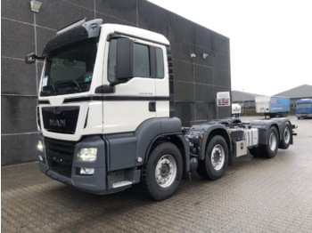 MAN TGS 35.420 8x2-6 - cab chassis truck