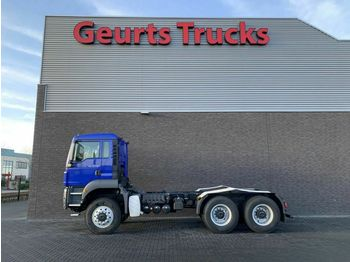 Cab chassis truck MAN TGS 40 440 6X6 TIPPER CHASSIS