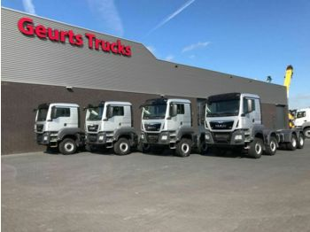 MAN TGS 41 480 8X6 TIPPER CHASSIS  - cab chassis truck