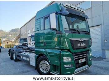 Cab chassis truck MAN TGX 26.560 6X2 Lenkachse D38 euro 6: picture 1