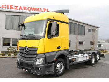 Cab chassis truck MERCEDES-BENZ ACTROS 2540 6x2 E6 CHASSIS