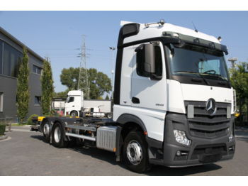MERCEDES-BENZ ACTROS 2542 E6 BDF CHASSIS - cab chassis truck