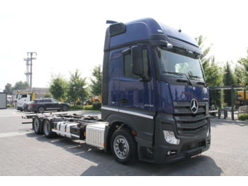 MERCEDES-BENZ ACTROS 2542 E6 BDF CHASSIS LOW DECK MEGA - cab chassis truck