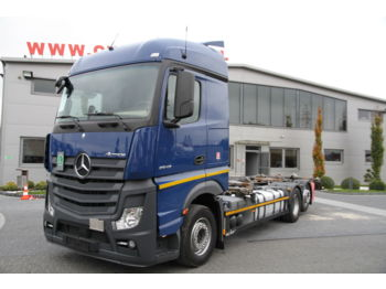 MERCEDES-BENZ ACTROS 2543 E6 BDF 6X2 CHASSIS - cab chassis truck