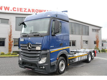 Cab chassis truck MERCEDES-BENZ ACTROS RETARDER 2545 6X2 BDF CHASSI